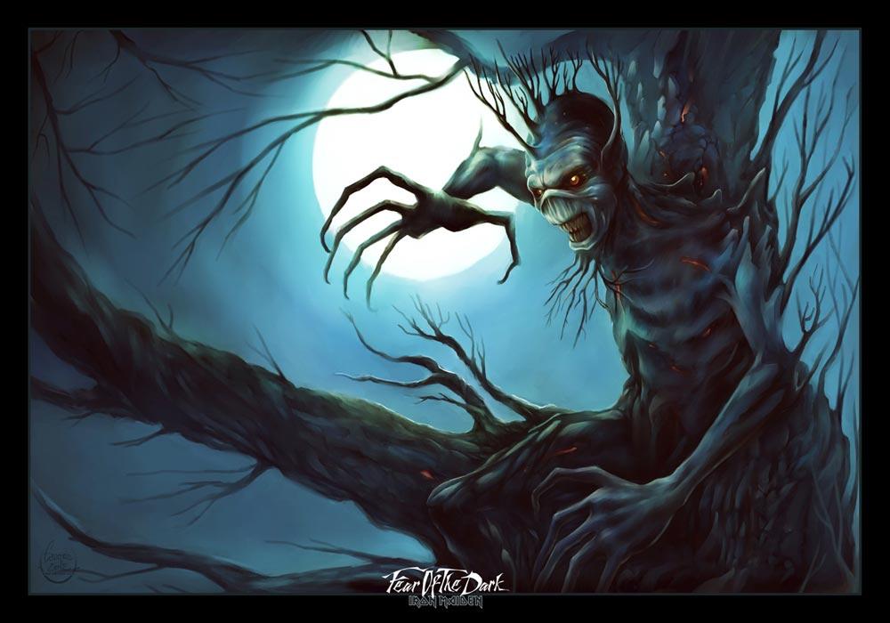 Fear of the dark Yann Delahaie Eacone illustrateur Fanart