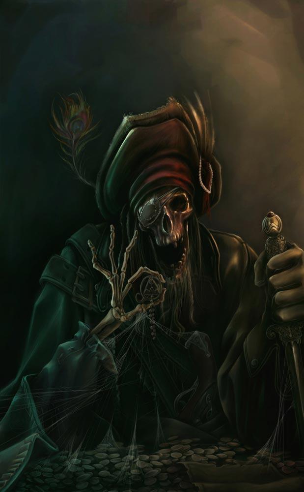 Pirate - Illustration numérique