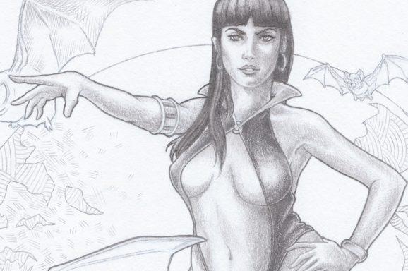 Vampirella Fan Art W.I.P