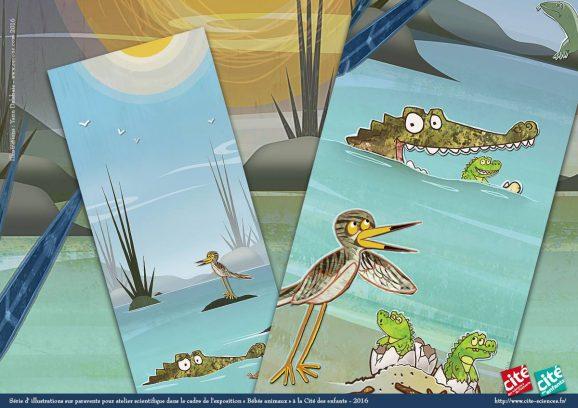 illustrations-paravents-bebes-animaux-lexpo