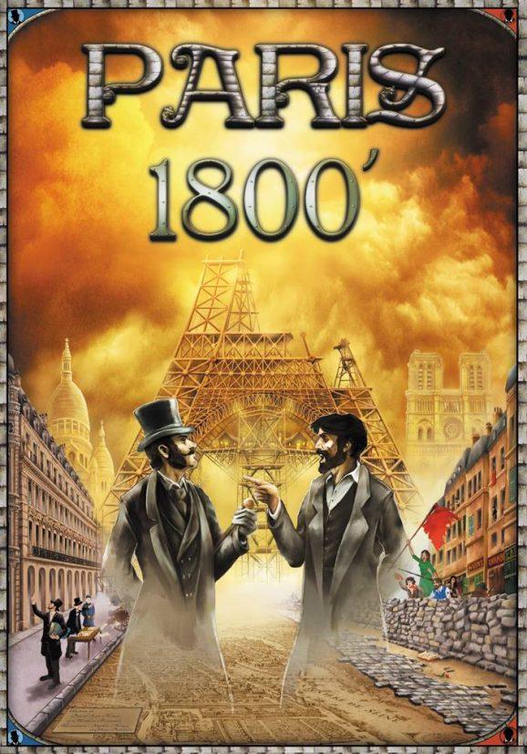 Illustration de boite de jeu «Paris 1800»