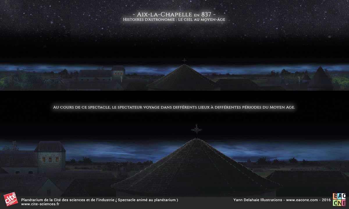 Illustration pour Planétarium - Aix La Chapelle 837