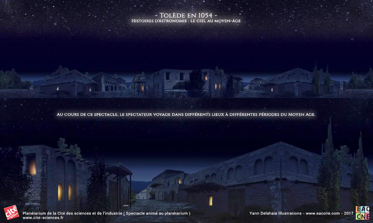 Illustration pour Planétarium - Tolède de Nuit 1054