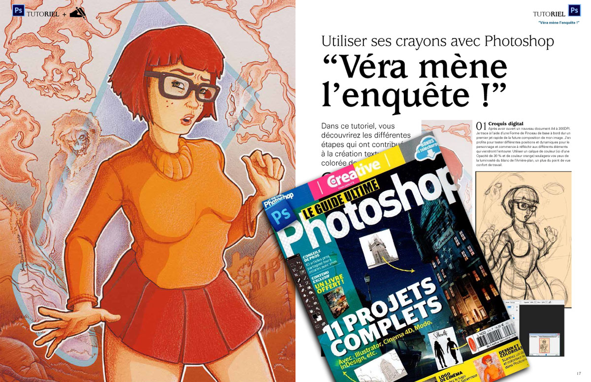 Vera Dinkley Savoir Tout Faire avec Photoshop - Tutoriel