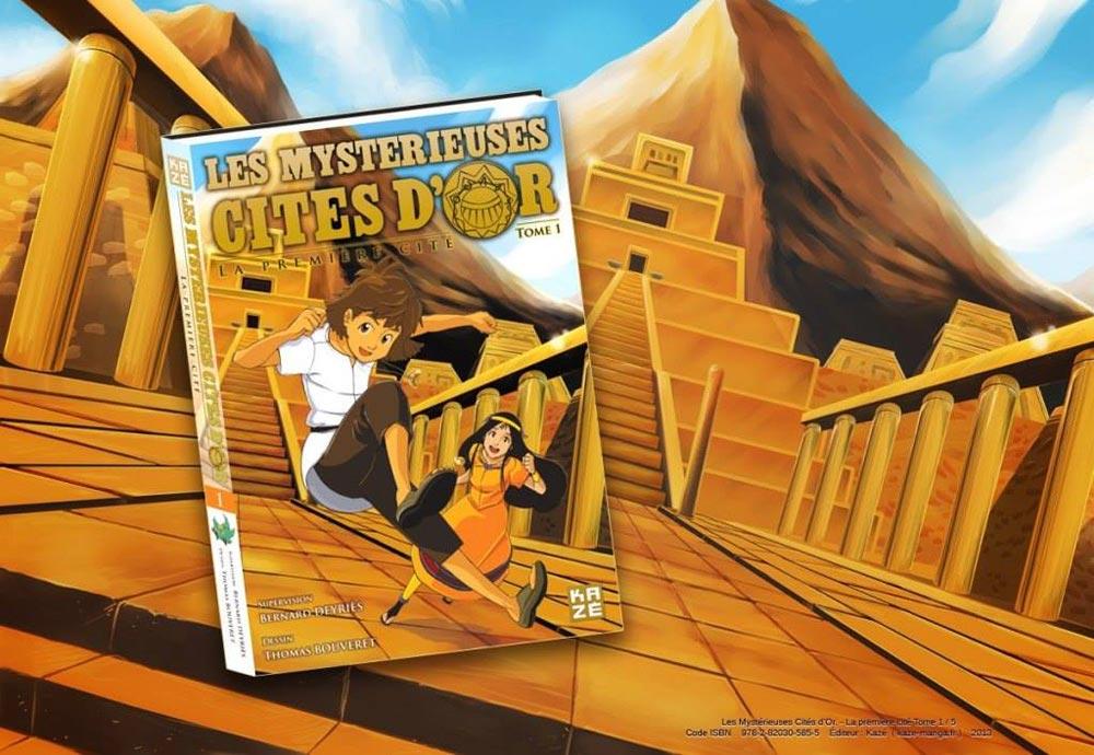 Les mystérieuses cites d'or yann delahaie eacone illustrateur