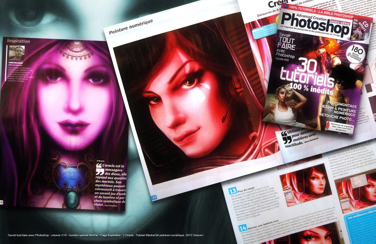 Savoir tout faire avec Photoshop volume 17 Tutoriel yann delahaie illustrateur